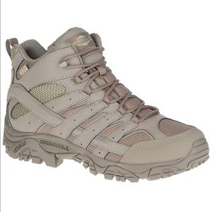 NEW Men's MERRELL Moab 2 Tactical Waterproof Boots